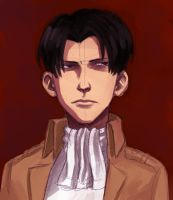 Levi portrait by Jazzie560