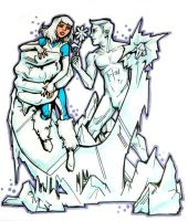 Ice Meets Iceman by NickUnlimited
