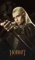 Legolas 2 - The Hobbit cosplay (test) by LuckyStrike-cosplay