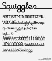 Squiggles Regular by Twiggy8520