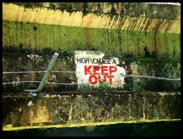 keep out by eRiQ