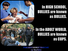 Bullies by paradigm-shifting
