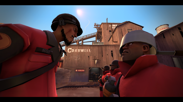 (SFM) Is this a joke, Private?! by CobaltDrawing