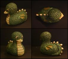 Dragonduck by aerie-
