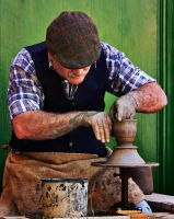 Pottery Maker I by davidsant