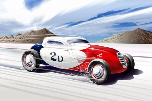 The famous 2D Coupe by GaryCampesi