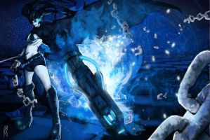 Black Rock Shooter by Andreanable