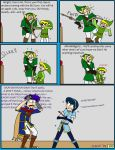 Toon Link's Crossbow Training by CrystalKaleidescope