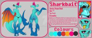 Sharkbait Ref Sheet by JunkYardRabbit