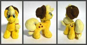 Applejack plush. by GingerAle2016