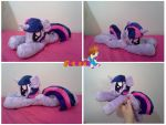 Twilight Sparkle Floppy Beanie Plush by PrinceOfRage