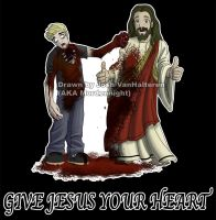 Give Jesus your Heart by mordennight