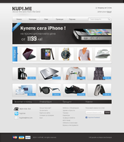 Buy.me e-commerce design by bekyarov