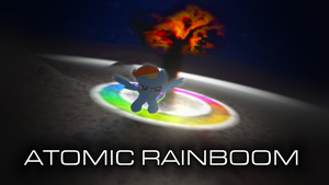 Atomic Rainboom by AllicornUK
