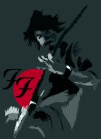 Dave Grohl by papelh6b