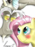 Discords Poem to Fluttershy by Golden-Freddy-1337