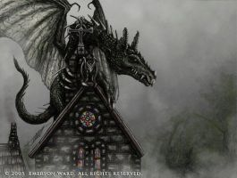 The Church Dragon by Wardem