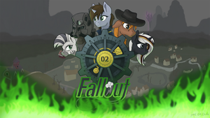 Fallout equestria fan art by TheDkDude