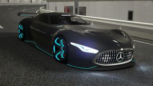 Mercedes Benz Vision GT at special Stage 5 2 by NightmareRacer85