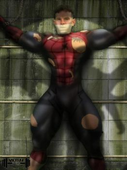 Spiderman captured by the Vulture - clean version by wannabehuge