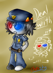 OFFICER CAPtor...wtf--- by PPGxRRB-FAN