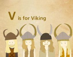 V is for Viking by whosname