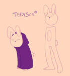 Tedison - An Unarmed  Rabbit by Tysirr