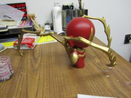 Iron Spider-Man Munny 2 by MUFC10