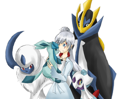 RWBY - Weiss pokemon team by Babero