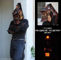 Haunted Leather Steampunk Alchemist by Epic-Leather