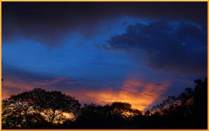 African Sunset After Rain by NagWolf