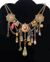 Collage necklet by bchurch