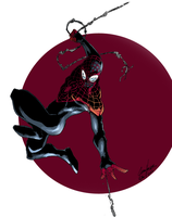 Ultimate Spider-Man Color by Jason-FH-Art
