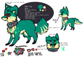 marley :: mascot 2012 :: ref 2.0 by anchordrop