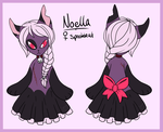 Noella- MYO Spookkat entry by fox-song