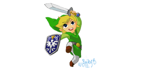 Wind Waker Link by Rinni-Boo