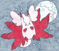 Mega clefable by FrozenFeather