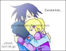 SasuIno - Don't Let Go by SuicideBadgers