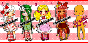 Sugar Adoptables OPEN(4/4)+ 1 CUSTOM with pixel by Hishousophy