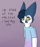 i'm afraid of the way i don't by glitchings