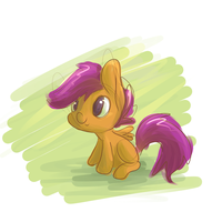 Tiny Scoots by PonyGoggles
