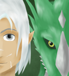 The man and his dragon by RobotsWithCookies