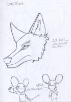 omg its a realistic wolf. by Crazychivez