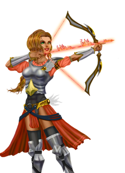 Fire Archer by ArousingSoul