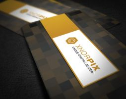 Beep Business Card by xnOrpix