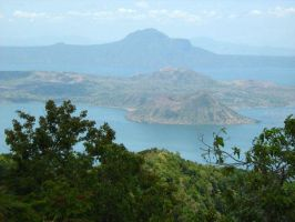 Taal Volcano by lambsfoot