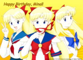 Happy Birthday Minako by ArthurT2015