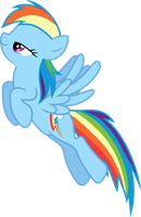 Vector #5 - Rainbow Dash #2 by DashieSparkle