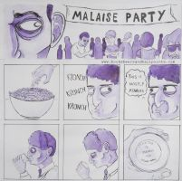 Malaise Party by BostonDanceParty