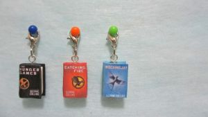 Hunger Games Keychain by gracelyt